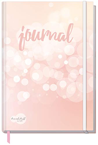 Bullet Journal dotted A5 mit Gummiband [Dreamy] von Trendstuff by Häfft | Notizbuch, Tagebuch - stilvoll, robust, biegsam, abwischbares Cover