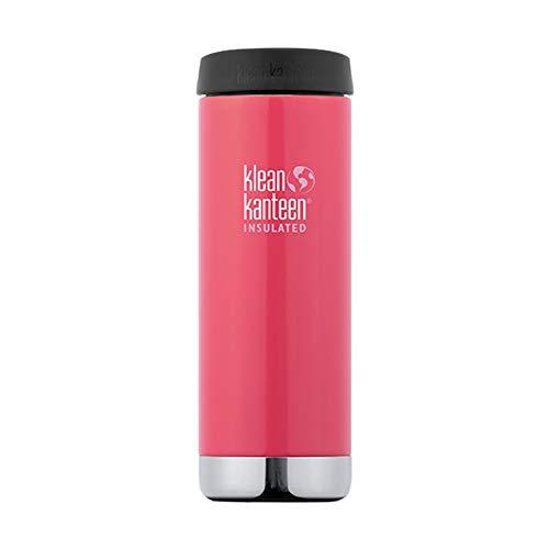 Klean Kanteen - TKWide Vacuum Insulated (Café Cap) - Isolierflasche Gr 355 ml rot/schwarz