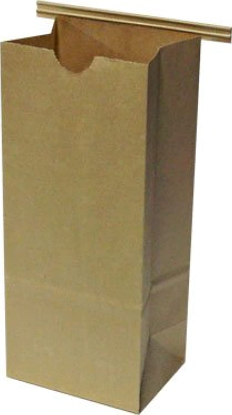 Resealable Kraft Tin Tie Poly-lined Bags - 1/2 Lb - 25 Pack