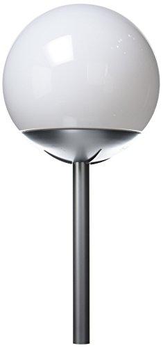 Xanlite SO300B Boule Solaire Detachable 4 LED Blanches, Plastique, Blanc