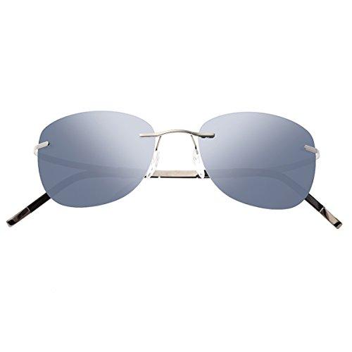 Breed Adhara Herren Polarisierte Sonnenbrille, BSG043GM, BSG043GM