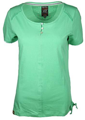 s'questo Damen Shirt Größe 36 EU Grün (grün)