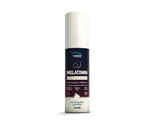 Melatonin Sleep Cycle Cream™  Topical Melatonin 5mg Per Dose  Sleep Lotion to Regulate Sleep Cycle  Jet Lag Support  Travel or Full Size