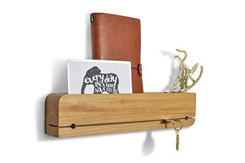 Natuhr Colgador de llaves (madera de haya, barnizada)