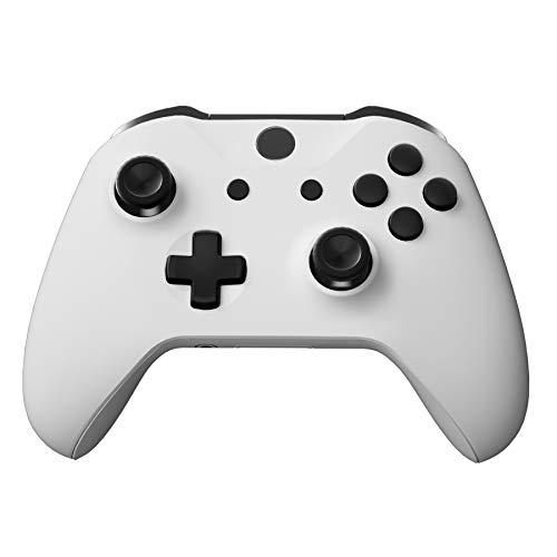 eXtremeRate Botones Completos para Xbox One S/X Botón de LB RB LT RT Bumpers Triggers Gatillos D-Pad ABXY Start Back Sync Botones con Herramientas para Xbox One S One X(Modelo 1708)-Oscuro