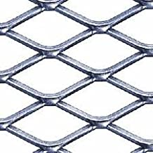 "3/4"" #9 304 Stainless Steel Expanded Sheet/Mesh, 24"" x 24"" x .100"""