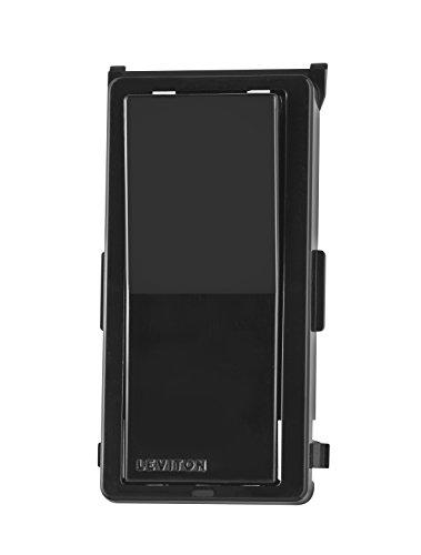Leviton DDKIT-SE Decora Digital/Decora Smart Switch Color Change Kit, Black