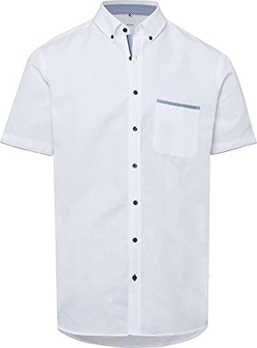 BRAX Style Dan Camicia Button-Down, Bianco, XL Uomo