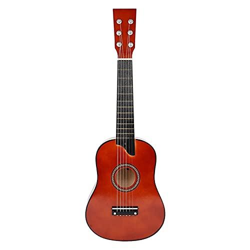 Guitarra Eléctrica 25 Pulgadas Basswood Acústica 12 Trastes 6 Cuerdas Guitarra Con...