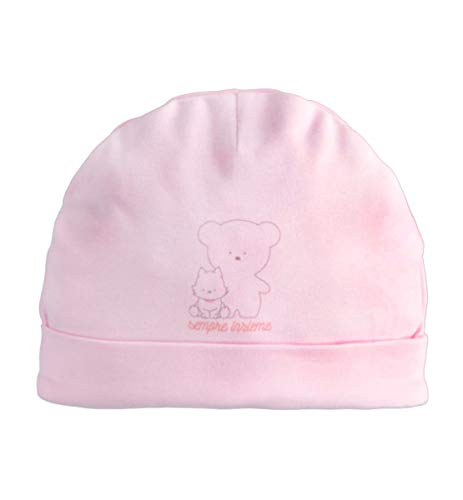 IDO Mütze für Neugeborene, Pink Einheitsgröße