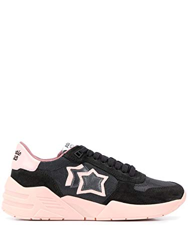 Luxury Fashion | Atlantic Stars Dames VENUSPBSN18 Zwart Polyamide Sneakers | Seizoen Outlet