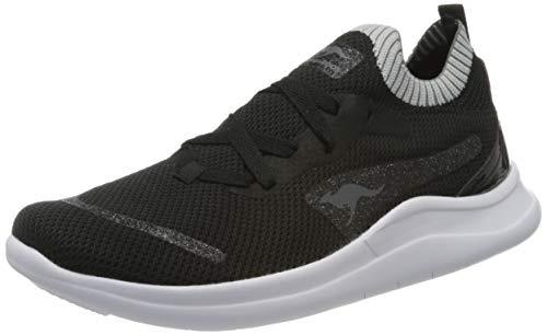 KangaROOS Damen KG-Limber S ll Sneaker, Schwarz (Jet Black/Dk Silver 5006), 38 EU