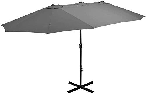 LHYLHY Mast 2 7x4 6m cantilever umbrella garden umbrella several choices