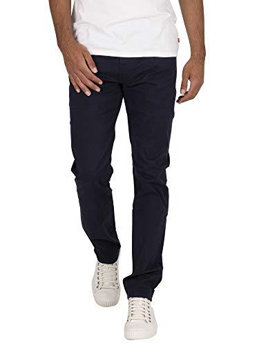 Levi\'s Herren 511 Slim Jeans, Baltic Navy Sueded Sateen Wt B, 36W / 34L