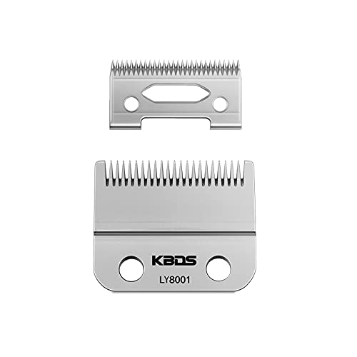 KBDS Replacement Clipper Blades,2 Holes Electric Professional Hair Clipper Trimmer Adjustable Blade for Wahl clippers,Wahl 5-Star Senior, Magic Clip, Reflections Senior