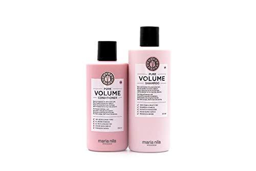 Maria Nila Pure Volume Shampoo 350 ml & Conditioner 300 ml
