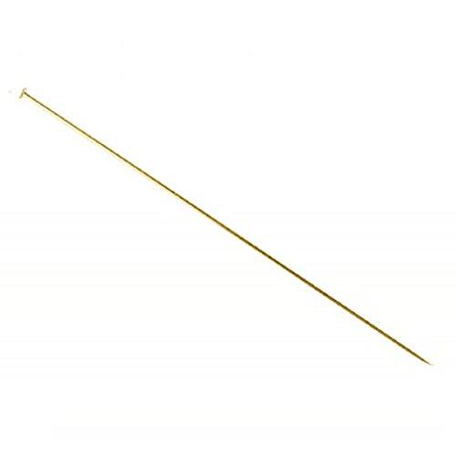 Hutnadel, vergoldet, 150 mm, 10 Stück