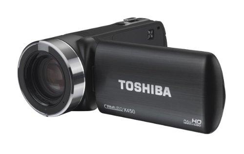 Toshiba Camileo X450 (Steckplatz für Speicherkarten)
