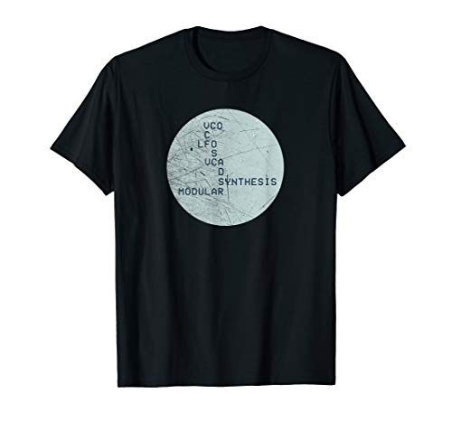 Synthesizer Analog Synth Acronyms Synth Vintage VCO LFO Nerd T-Shirt