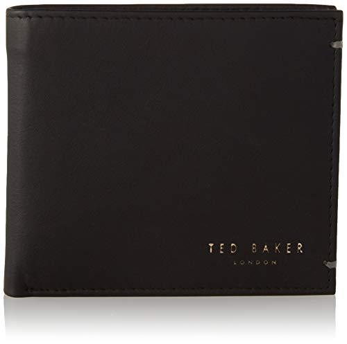 Ted Baker Accesorio de Viaje- Billetera Plegable, One Size, Black