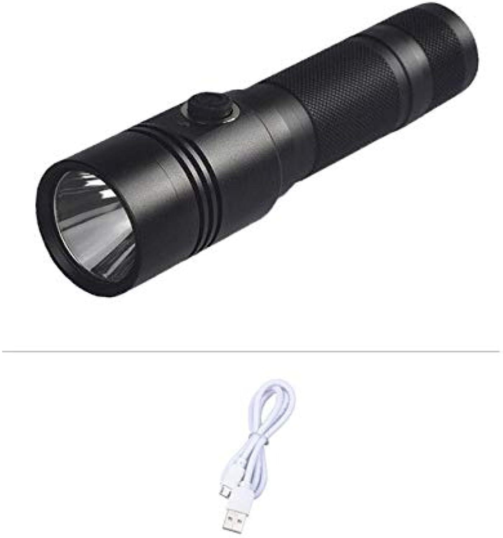Set A   USB Rechargeable Flashlight CREE T6 LED Flashlight sos LED Torch Powerful Self-defens lanterna led 18650 USB Torch led Chengln