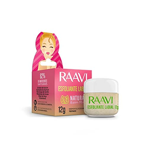 Esfoliante Labial Natural Balm Mint - Raavi, Raavi