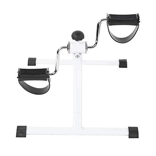 Mini Exercise Bike, Portable Under Desk Pedal Exerciser Foot Cycle Arm & Leg Peddler Machine for Women and Men