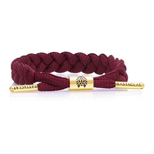 Rastaclat Merlot Men's Medium/Large Braided Bracelet