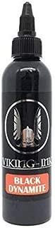 Tattoo InkBlack Dynamite 1oz (30ml) Viking Ink USA, Best Color and Black Ink Original Vegan