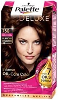 Palette Deluxe Color Hair Colour Dye 750 Chocolate Brown by Schwarzkopf