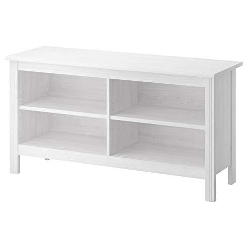 IKEA ASIA BRUSALI, Banco de TV, Color Blanco