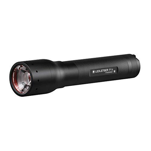Ledlenser P14, LED Allround Taschenlampe, extrem helle 800 Lumen, 50h Laufzeit, robustes Metallgehäuse, fokussierbar, inkl. Batterien