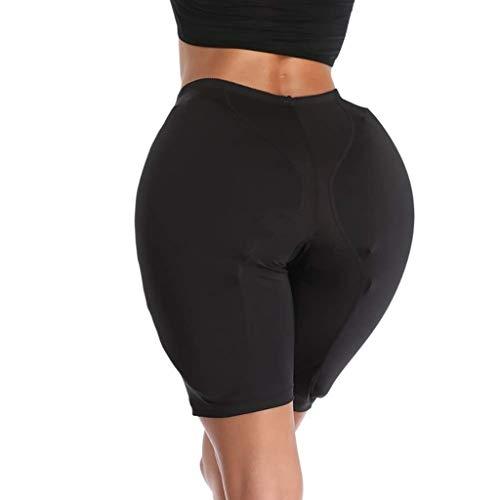 G&F Crossdresser Po Hip Enhancer Gepolsterter Shaper Höschen Pads Fake Ass Enhancer Unterwäsche (Color : Black, Size : XXXL)