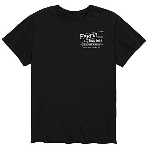 Farmall Tractors Vintage - Men's Short Sleeve Graphic T-Shirt Black
