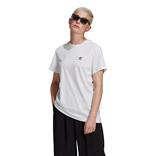 adidas GN2924 Loose Tee T-Shirt Donna White 40