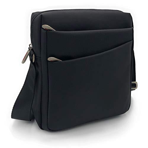 borsello uomo pelle tracolla ELIOX Borsello Uomo Tracolla Regolabile per iPad Tablet Fino a 8