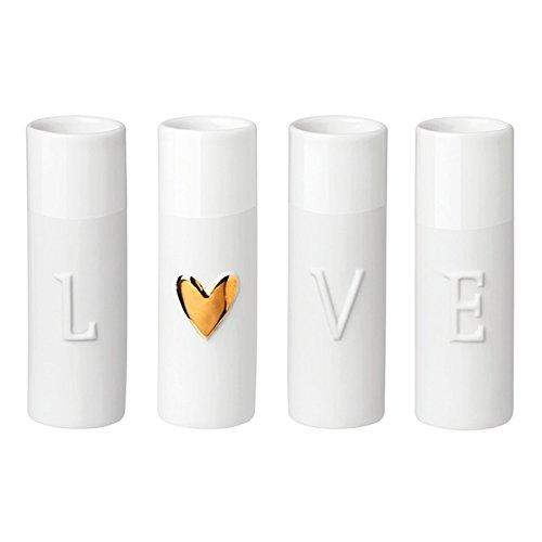 Love Minivasen, 4er Set