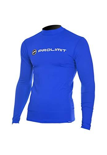 Prolimit Logo Langarm Rashguard Blue 52 L