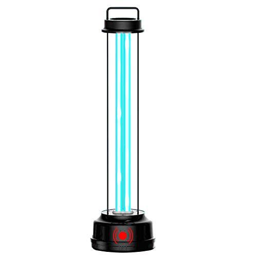 1x Lampada Doppia Tecnologia Raggi UV-C Ozono 38W Sensore Radar di Movimento Germicida Sanificazione Ambienti da Batteri Acari Virus