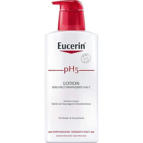 Eucerin pH5 Lotion beruhigt strapazierte Haut, 400 ml Lotion