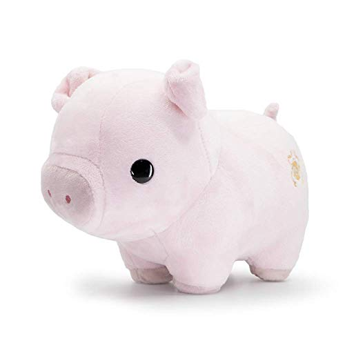 Bellzi Pink Pig Cute Stuffed Animal Plush Toy - Adorable Soft Pig Toy Plushies and Gifts - Perfect Present for Kids, Babies, Toddlers - Piggi