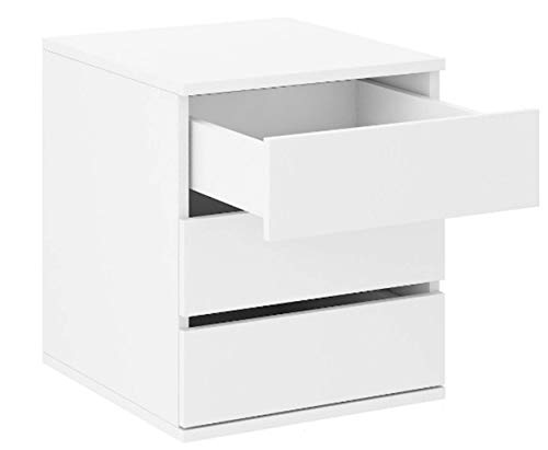 Küchen-Preisbombe Schubkasteneinsatz Schwebetürenschrank Schrank Schlafzimmer Weiss Kommode