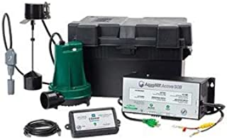 Zoeller 508-0008 Aquanot Active Back Up Pump System w/ WIFI Monitoring