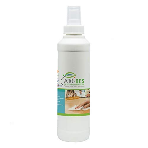 Lumaland Apuro Desinfektionsmittel 250ml - Natürliches Hygienespray Allzweckreiniger Pumpspray für Oberflächen Verschiedene Anwendungen
