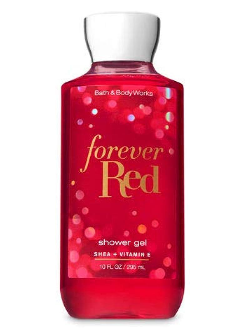 プレート原因霜【Bath&Body Works/バス&ボディワークス】 シャワージェル フォーエバーレッド Shower Gel Forever Red 10 fl oz / 295 mL [並行輸入品]