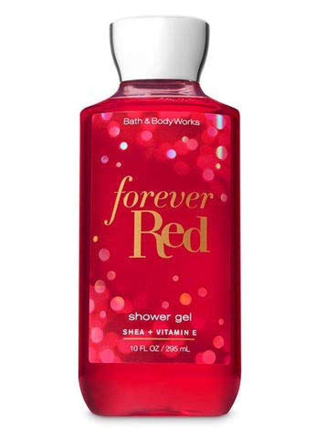 広い慢受粉する【Bath&Body Works/バス&ボディワークス】 シャワージェル フォーエバーレッド Shower Gel Forever Red 10 fl oz / 295 mL [並行輸入品]