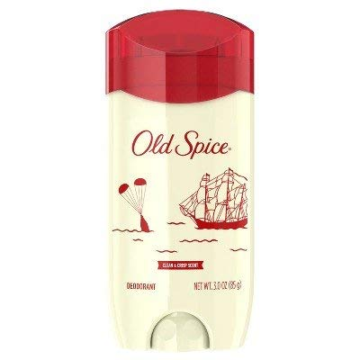Old Spice 80th Anniversary Limited Edition Deodorant for Men, Clean & Crisp, 3 oz