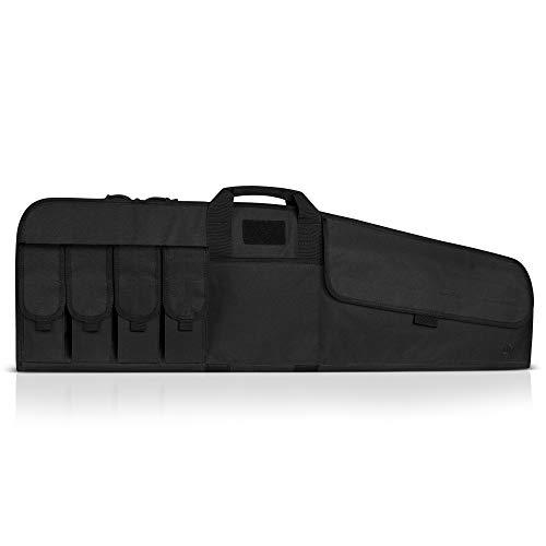 "Savior Equipment The Patriot 41"" Single Rifle Gun Tactical Bag - Obsidian Black"
