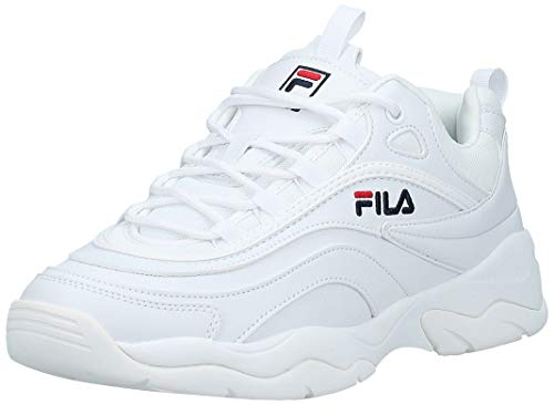 Fila Ray Low, Zapatillas para Hombre, Blanco (White 1010561-1fg), 43 EU