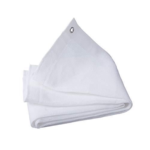 AWSAD Lonas para Sombra, Red De Sombra Blanca, Interior Y Exterior Tela Sombra, Material De Polietileno, para Patio con Balcón, 21 Tamaños (Color : White, Size : 3x6m)